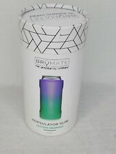 BrüMate Hopsulator Glitter Mermaid Womens Can Cooler Slim Double-walled