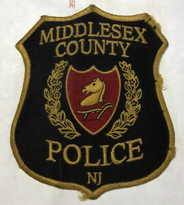 Middlesex County Police Patch - New Jersey - Great Condition