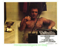 THE GAMBLER LOBBY CARD size 11x14 Inch MOVIE POSTER 5 Card's 1974 JAMES CAAN