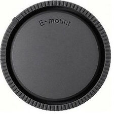 Rear Lens Cap + Camera Front Body Cover for Sony E-Mount NEX-3 NEX-5 Black New