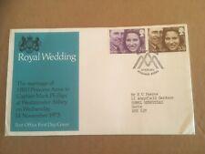 GB 1973 Royal Wedding Post Office FDC Windsor, Berks FDI SHS