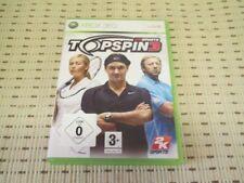 Top Spin 3 für XBOX 360 XBOX360 *OVP*