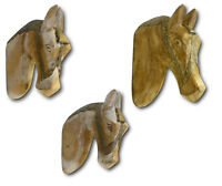 Wall Decoration Horse Head Deco hanging Sculpture Animal statue Wood Vintage NEW