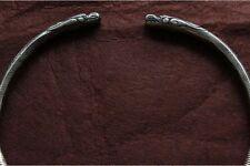 Handmade Guizhou Miao Silver Dragon Necklace W1266
