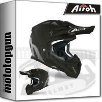AIROH AVA11 INTEGRALHELME OFF-ROAD MOTORRAD SCHWARZ MATT AVIATOR ACE COLOR L