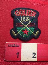 Golfer USA Golf Crest Patch 77V5