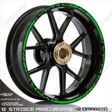 Trims Wheel Stickers Sport Honda VFR 750 800 1200 Green
