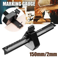 "✅ 6"" Adjustable Marking tool Measuring Cutting Woodworking Gauge Line scribber ✅"