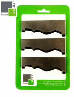 """NEW MOULDING KNIVES KIT OF 3 CASING 3.0/"""" WOODMASTER COMPATIBLE 1048"""