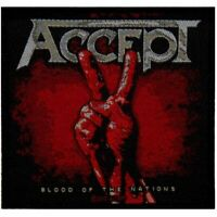 Accept Blood Of The Nations Patch Official Heavy Metal New