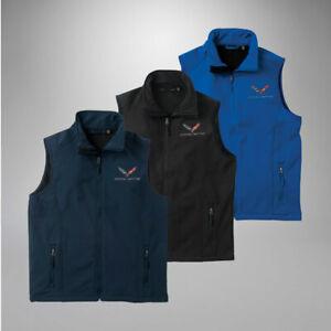 2014-2019 Corvette C7 Men's Blacktop Workwear Vest 637729