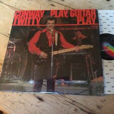 CONWAY TWITTY - Play Guitar Play - Excellent Condition LP Record MCA MCF 2798