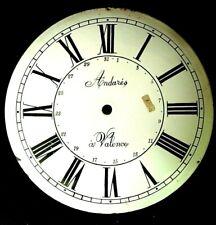 Cadran horloge comtoise recent quantieme date dial cloches 25 cm Morbier uhr 19