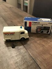 1/55 Tomica F17, F44 Citroen H Truck Police Made In Japan With Box Mint!