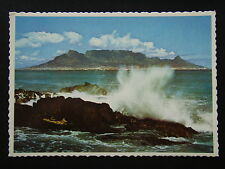 TABLE MOUNTAIN SENTRY OF THE BAY BLOUBERGSTRAND CAPE TOWN SOUTH AFRICA POSTCARD
