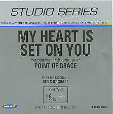 My Heart Is Set On You - Point of Grace - Accompaniment Track