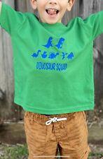 New Unisex Dinosaur Squad Goals T-shirt Green Party  Kid Boy  Design 2T 3T 4T