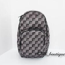 NWT Vans Alumni Backpack School Bag Laptop VN0A389UPW3 Checkerboard Black Grey