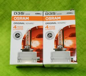 NEW (factory boxed) OSRAM XENARC D3S 66340 XENON HID HEADLIGHT BULBS | PACK OF 2