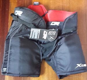 "NEW DR HP30 / X30 XLR8 Junior Large 28-30"" 71-76cm Ice Hockey Pants"
