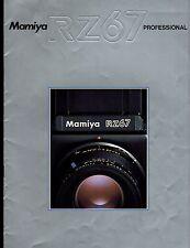 ((( JAPANESE ))) MAMIYA RZ 67 CATALOG/BROCHURE (ORIGINAL PRINT/not copies)