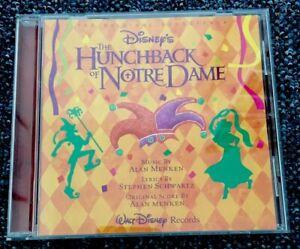 THE HUNCHBACK OF NOTRE DAME  - The Original Soundtrack CD - Disney
