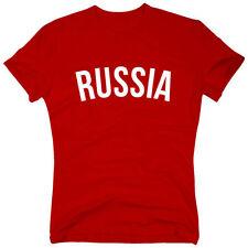 Russland in Plusgröße Herren-T-Shirts mit Motiv