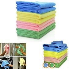 10-200 Microfibre Cleaning Cloths Dusters Car Bathroom Polish Towels