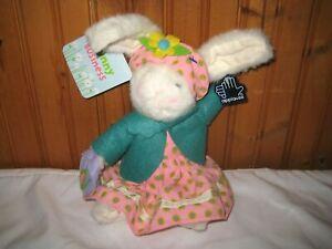 "Bunnies on Parade Applause 2005 Target Bunny Rabbit 9"" Plush NWT Easter Spring"