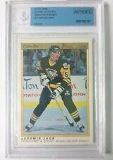 Jaromir Jagr BUYBACK ROOKIE History Of Hockey 1990-91 OPC Premier **SUPER RARE**