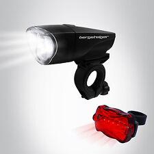 1 Watt LED Fahrradbeleuchtung Fahrradlicht Fahrradlampe Fahrrad Licht Lampenset