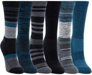 Kirkland Women's Ladies Trail Socks Extra Fine Merino Wool 6-Pair #7844788