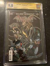 Dark Nights The Batman Who Laughs # 1 CGC 9.8 SS By James Tynion ( Origin )