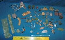 Military Toy Parts & Accessories - weapons rifles walls sandbags backpack