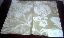 Vintage MANUEL CANOVAS ~ Paris Fabric Remnant - CHEVERNY - Chartruese Silk Strie