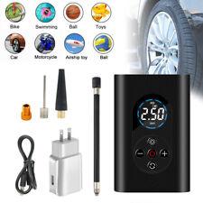 Carro Portátil 150PSI Bomba De Ar Do Compressor inflador de pneus digital com luz LED