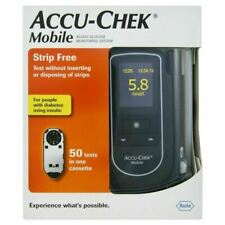 Accu Chek Mobile Blood Glucose Diabetic Monitor/Meter/System + Test Strips NEW