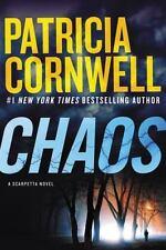 ## SHIPS DAILY ## LIKE NEW ##  Chaos: A Scarpetta Novel  Cornwell, Patricia