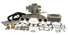 Volvo 122 144 1800 38 DGES Weber Carburetor Kit w/Manifold & Genuine European