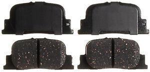 Disc Brake Pad Set-Ceramic Disc Brake Pad Rear ACDelco Advantage 14D835CH