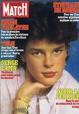 Couverture magazine,Coverage Paris-Match 12/02/82 Stéphanie de Monaco