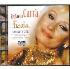 """RAFFAELLA CARRA' """" FIESTA (GRANDES EXITOS) """"CD SIGILLATO ARGENTINA"""