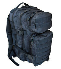 NAVY BLUE Molle RUCKSACK Assault Small 20L BACKPACK Tactical Army Day Pack New