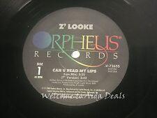 """Z' Looke, Can U Rad my lips LP(VG) 12"""""""