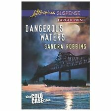 Love Inspired LP Suspense the Cold Case Files: Dangerous Waters by Sandra...