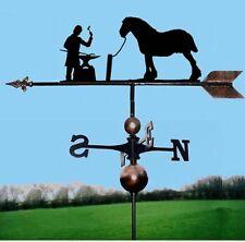 Blacksmith / Farrier & Horse Weathervane, Handmade, Very High Quality