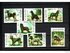 0920++LAOS   SERIE TIMBRES  CHIENS  N°2