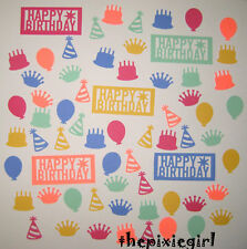 MARTHA STEWART HAPPY BIRTHDAY THEME PAPER PUNCHES 65 DIE CUTS PUNCHIES