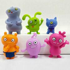 Uglydolls 6Pcs Mini Action Figures MOXY OX Wage Babo Doll Kids Christmas Gift