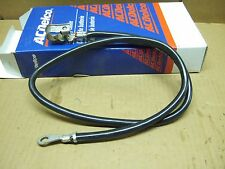 "Quality OEM AC Delco Negative Battery Cable 41"" long Top post end USA made"